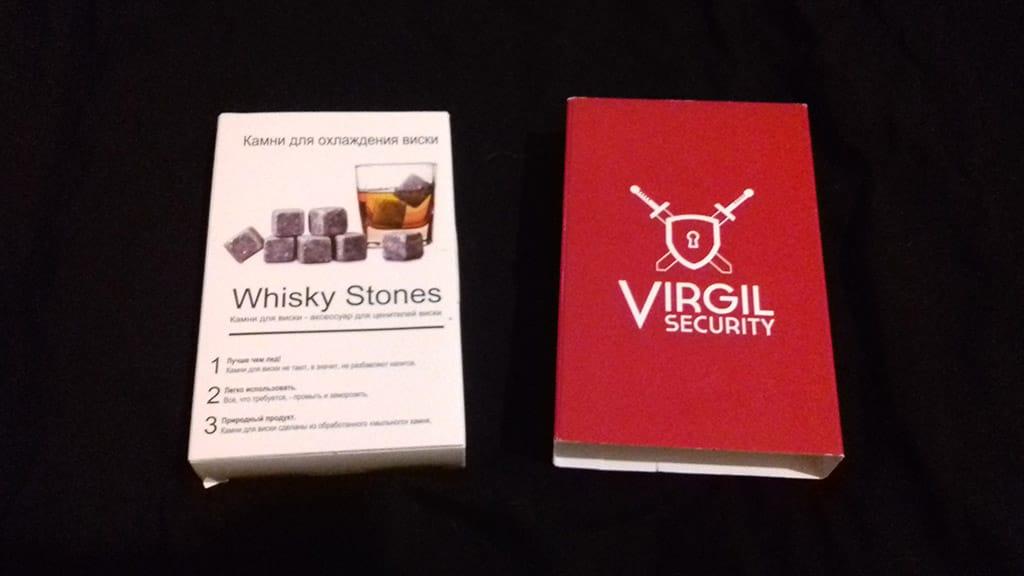 Камни для виски от Virgil Security