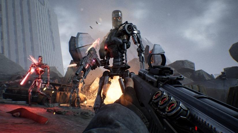 Игра стрелялка - Terminator