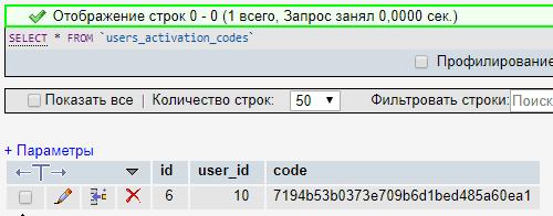Код активации